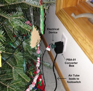 PBA-01 Christmas Light Footswitch