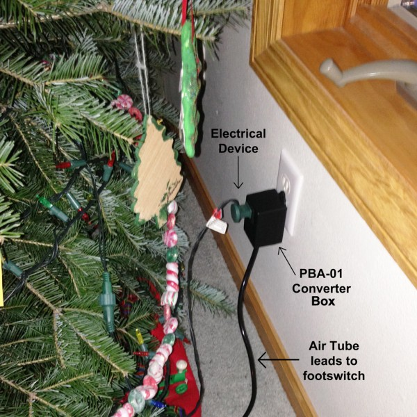 PBA-01 Christmas Light Footswitch
