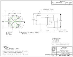Adjustable Vacuum Switch Product Details