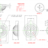 F800BA Soft Foot Pedal Dimensions