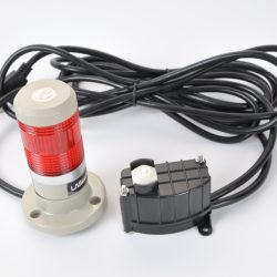 stack light to notify when pressure rises too high or falls too low