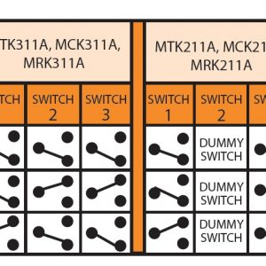 MTK211A Three Function Air Switch Sequence