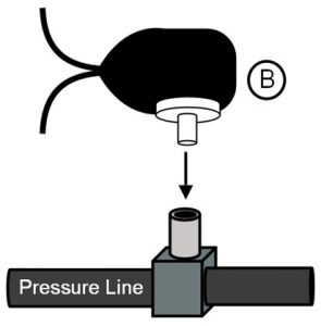Connect Pressure Switch to Pressure Source