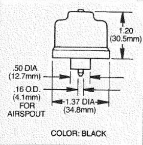 B414BA Air Button Bellow
