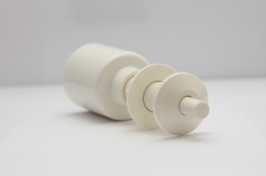 B513 Hard Push Button Actuator - White