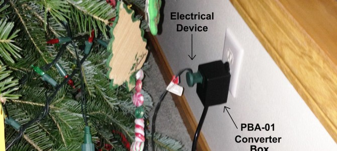 Christmas Lighting Using Air Switching Technology