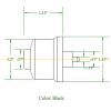 B414A Internal Air Bellow Dimensions