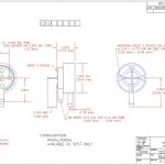 PC Board Switch Drawing, PRESAIR, PCB Switch, PC Board Mount Switch