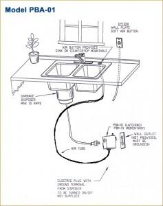 Garbage Disposal Air Switch Push Button