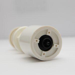 B513WS White Push Button Air Actuator Short Stem