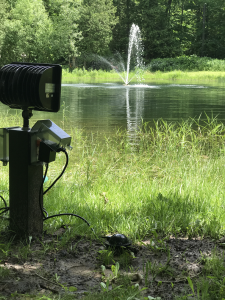 Pond Fountain Foot Pedal Switch