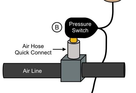 Air Pressure Alarm Prevents Production Loss